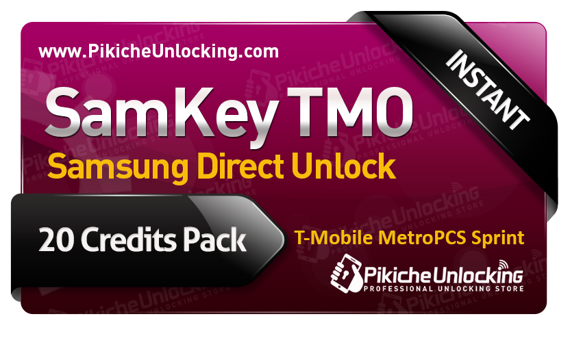 SamKey TMO Account - 20 Credits for 1 Phone Unlock