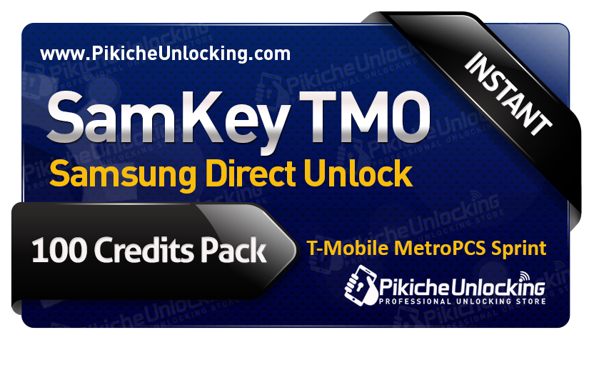 SamKey TMO Account - 100 Credits for 5 Phones