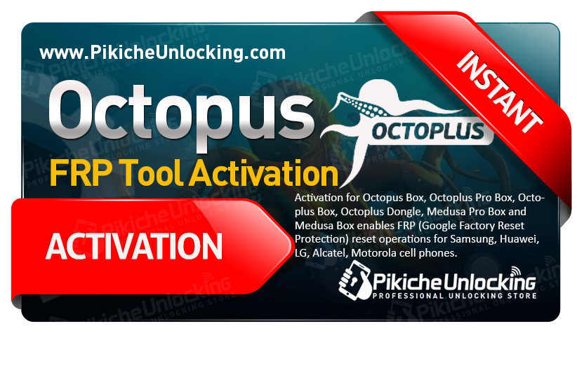Octopus / Medua Box - FRP Tool Activation